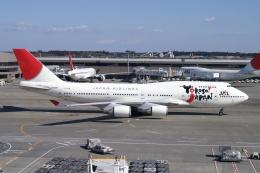 磐城さんが、成田国際空港で撮影した日本航空 747-446の航空フォト(飛行機 写真・画像)