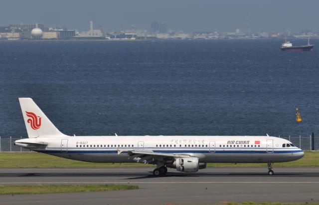 チャーリーマイクさんが、羽田空港で撮影した中国国際航空 A321-213の航空フォト(飛行機 写真・画像)