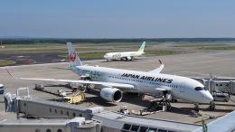 ららぞうさんが、新千歳空港で撮影した日本航空 A350-941の航空フォト(飛行機 写真・画像)