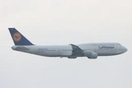 imosaさんが、羽田空港で撮影したルフトハンザドイツ航空 747-830の航空フォト(飛行機 写真・画像)