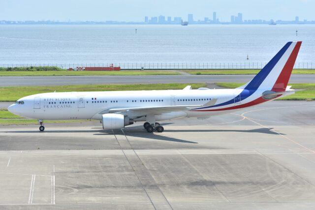 サンドバンクさんが、羽田空港で撮影したフランス空軍 A330-223の航空フォト(飛行機 写真・画像)