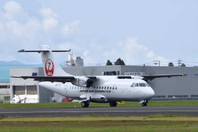 ワイエスさんが、鹿児島空港で撮影した日本エアコミューター ATR 42-600の航空フォト(飛行機 写真・画像)