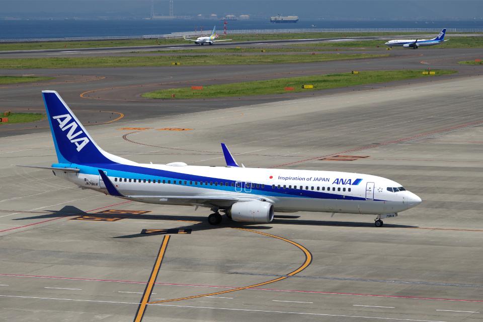 yabyanさんの全日空 Boeing 737-800 (JA79AN) 航空フォト