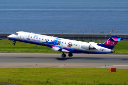 yabyanさんが、中部国際空港で撮影したアイベックスエアラインズ CL-600-2C10(CRJ-702ER)の航空フォト(飛行機 写真・画像)