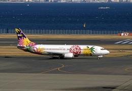 JAパイロットさんが、羽田空港で撮影したスカイネットアジア航空 737-46Qの航空フォト(飛行機 写真・画像)