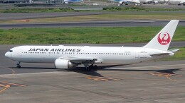 Garnet Worldさんが、羽田空港で撮影した日本航空 767-346/ERの航空フォト(飛行機 写真・画像)