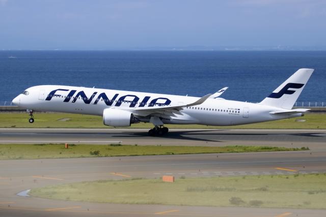 ▲®さんが、中部国際空港で撮影したフィンエアー A350-941の航空フォト(飛行機 写真・画像)