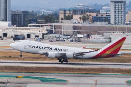LAX Spotterさんが、ロサンゼルス国際空港で撮影したカリッタ エア 747-481F/SCDの航空フォト(飛行機 写真・画像)
