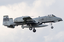 Flankerさんが、横田基地で撮影したアメリカ空軍 A-10C Thunderbolt IIの航空フォト(飛行機 写真・画像)