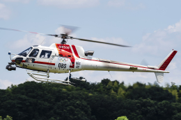 Flankerさんが、調布飛行場で撮影した朝日航洋 AS350B3 Ecureuilの航空フォト(飛行機 写真・画像)