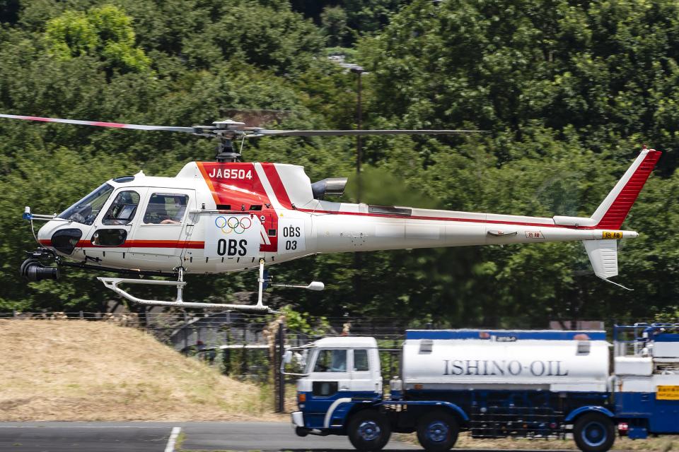 Flankerさんの朝日航洋 Eurocopter AS350 Ecureuil/AStar (JA6504) 航空フォト
