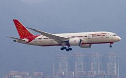 Asamaさんが、香港国際空港で撮影したエア・インディア 787-8 Dreamlinerの航空フォト(飛行機 写真・画像)