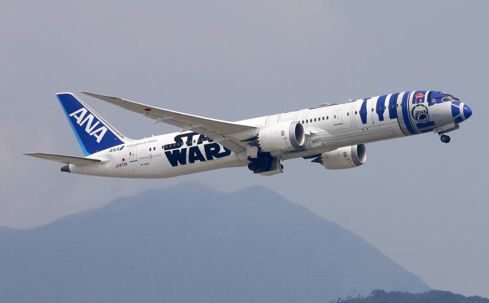 Asamaさんの全日空 Boeing 787-9 (JA873A) 航空フォト