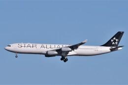 B747‐400さんが、羽田空港で撮影したルフトハンザドイツ航空 A340-313Xの航空フォト(飛行機 写真・画像)