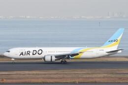 B747‐400さんが、羽田空港で撮影したAIR DO 767-33A/ERの航空フォト(飛行機 写真・画像)