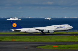 sshzeさんが、羽田空港で撮影したルフトハンザドイツ航空 747-830の航空フォト(飛行機 写真・画像)