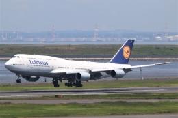 まえちんさんが、羽田空港で撮影したルフトハンザドイツ航空 747-830の航空フォト(飛行機 写真・画像)