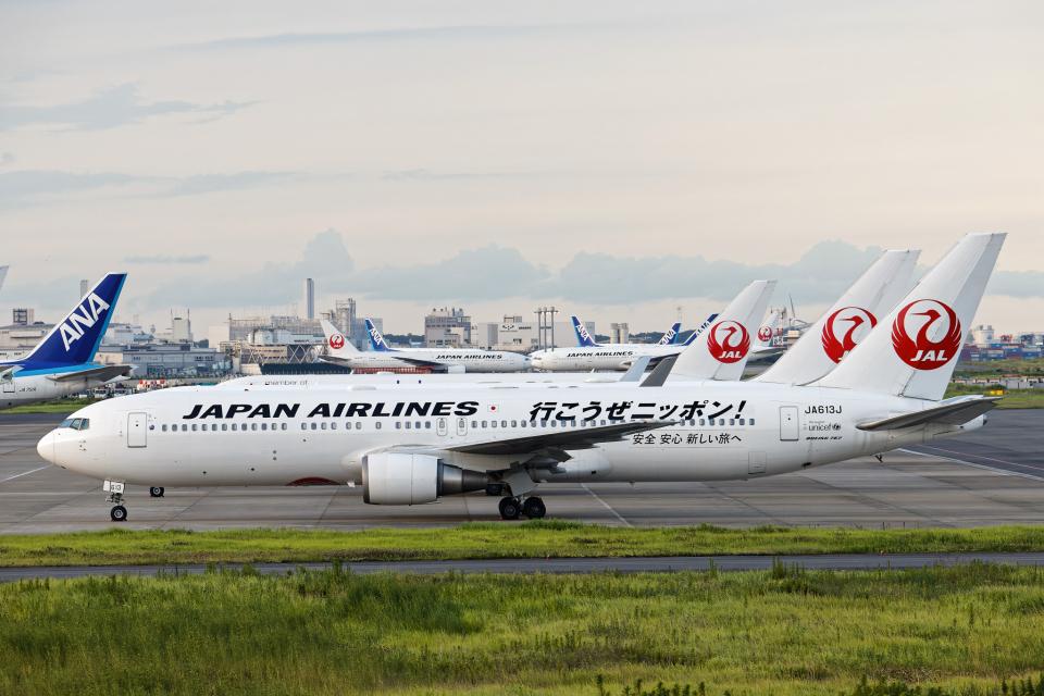 SGR RT 改さんの日本航空 Boeing 767-300 (JA613J) 航空フォト