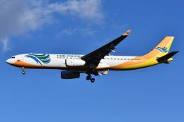 Deepさんが、成田国際空港で撮影したセブパシフィック航空 A330-343Eの航空フォト(飛行機 写真・画像)