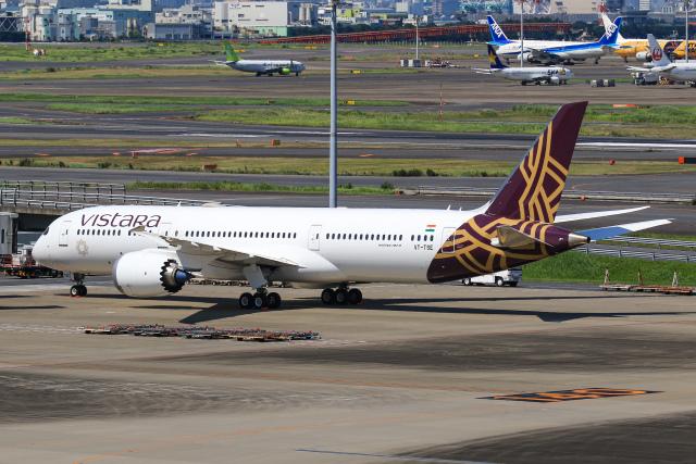 航空フォト:VT-TSE ビスタラ 787-9