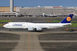 ryu330さんが、羽田空港で撮影したルフトハンザドイツ航空 747-830の航空フォト(飛行機 写真・画像)