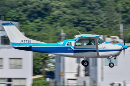 かとそさんが、調布飛行場で撮影した川崎航空 TU206F Turbo Stationairの航空フォト(飛行機 写真・画像)