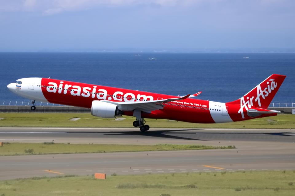 ▲®さんのタイ・エアアジア・エックス Airbus A330-900 (HS-XJB) 航空フォト