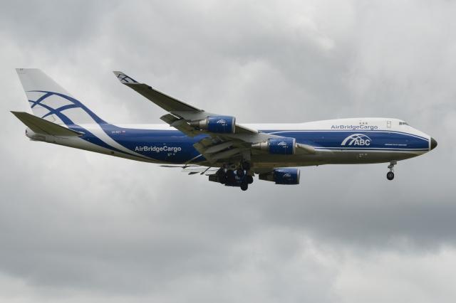 Deepさんが、成田国際空港で撮影したエアブリッジ・カーゴ・エアラインズ 747-428F/ER/SCDの航空フォト(飛行機 写真・画像)
