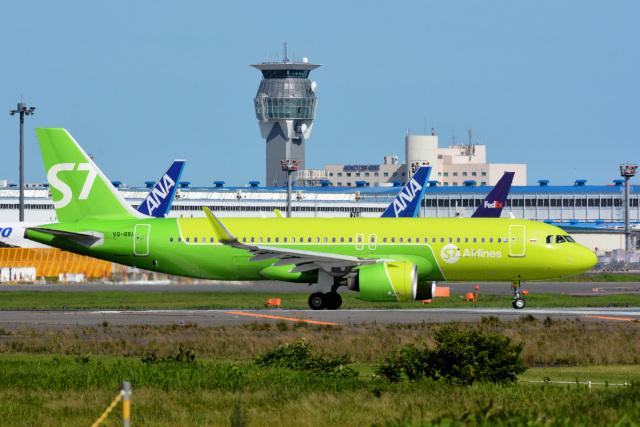 アルビレオさんが、成田国際空港で撮影したS7航空 A320-271Nの航空フォト(飛行機 写真・画像)