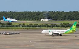 Rsaさんが、成田国際空港で撮影した春秋航空日本 737-86Nの航空フォト(飛行機 写真・画像)