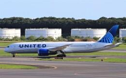 Rsaさんが、成田国際空港で撮影したユナイテッド航空 787-9の航空フォト(飛行機 写真・画像)