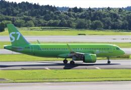 Rsaさんが、成田国際空港で撮影したS7航空 A320-271Nの航空フォト(飛行機 写真・画像)