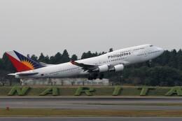 もぐ3さんが、成田国際空港で撮影したフィリピン航空 747-469Mの航空フォト(飛行機 写真・画像)