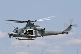 Hii82さんが、八尾空港で撮影したアメリカ海兵隊 UH-1 Iroquois / Hueyの航空フォト(飛行機 写真・画像)