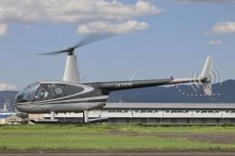 Hii82さんが、八尾空港で撮影した小川航空 R44 Astroの航空フォト(飛行機 写真・画像)