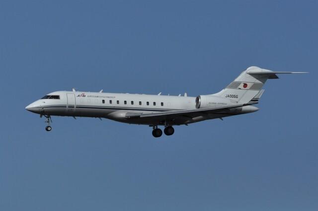 kumagorouさんが、仙台空港で撮影した国土交通省 航空局 BD-700-1A10 Global Expressの航空フォト(飛行機 写真・画像)