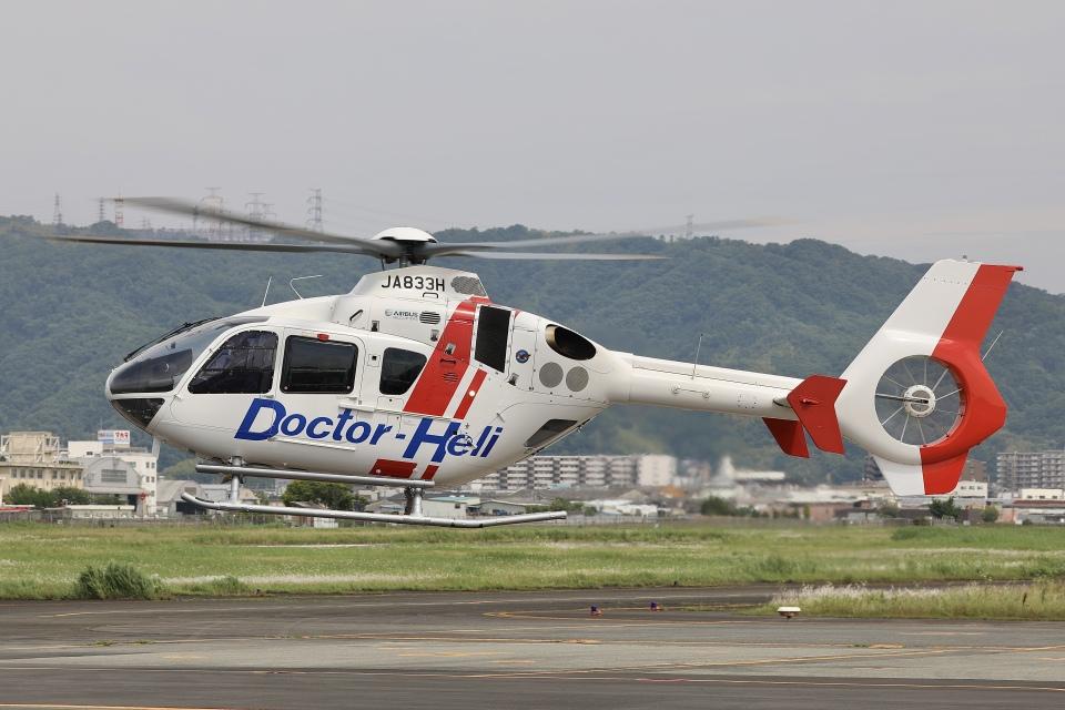 Hii82さんの学校法人ヒラタ学園 航空事業本部 Airbus Helicopters H135 (JA833H) 航空フォト