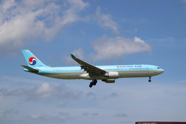 不揃いさんが、成田国際空港で撮影した大韓航空 A330-323Xの航空フォト(飛行機 写真・画像)