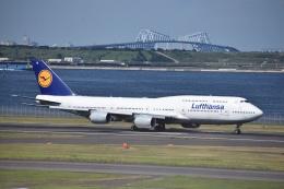 セッキーさんが、羽田空港で撮影したルフトハンザドイツ航空 747-830の航空フォト(飛行機 写真・画像)