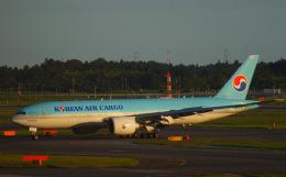 KAZKAZさんが、成田国際空港で撮影した大韓航空 777-FB5の航空フォト(飛行機 写真・画像)