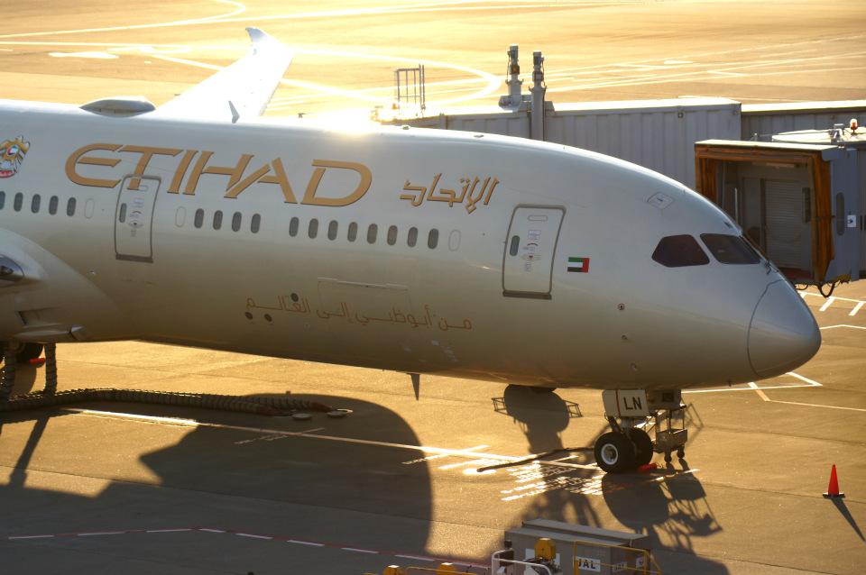 KAZKAZさんのエティハド航空 Boeing 787-9 (A6-BLN) 航空フォト