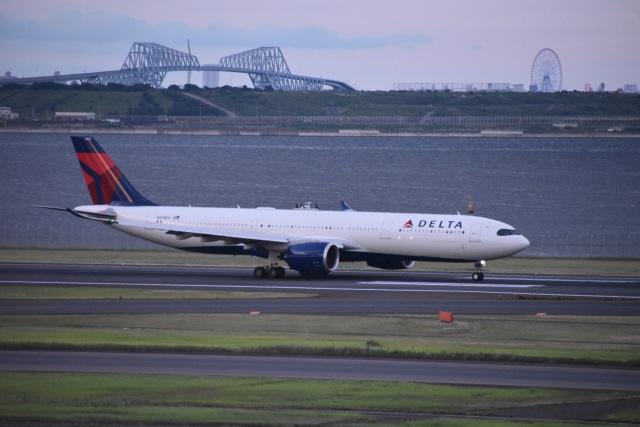 セッキーさんが、羽田空港で撮影したデルタ航空 A330-941の航空フォト(飛行機 写真・画像)