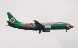 hs-tgjさんが、ドンムアン空港で撮影したノックエア 737-4Y0の航空フォト(飛行機 写真・画像)