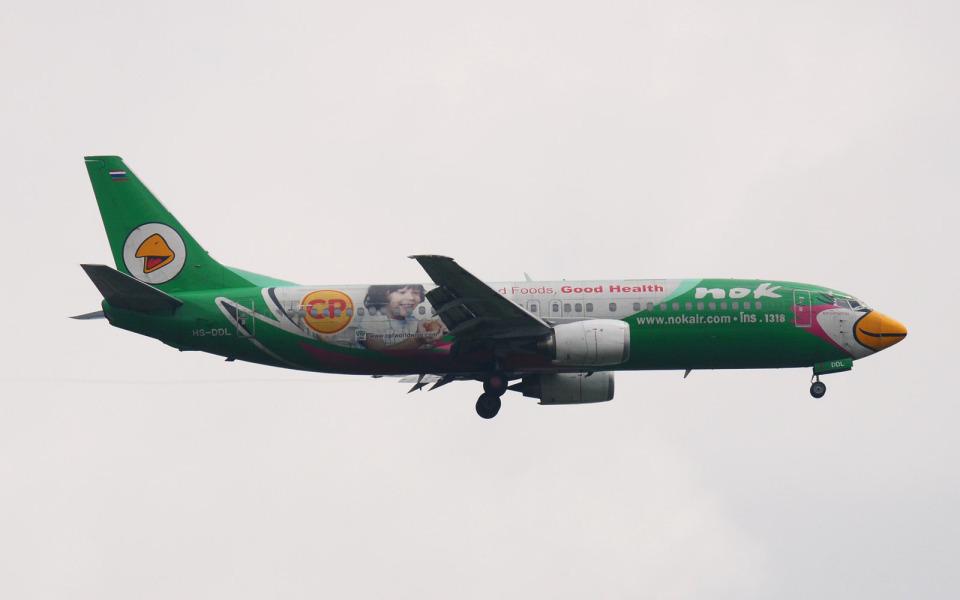 hs-tgjさんのノックエア Boeing 737-400 (HS-DDL) 航空フォト
