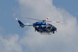 楓・瑞希さんが、鹿児島空港で撮影した西日本空輸 BK117C-2の航空フォト(飛行機 写真・画像)