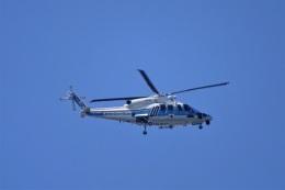 レドームさんが、羽田空港で撮影した海上保安庁 S-76Dの航空フォト(飛行機 写真・画像)
