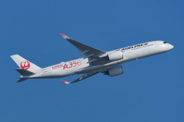 あっくんkczさんが、羽田空港で撮影した日本航空 A350-941の航空フォト(飛行機 写真・画像)