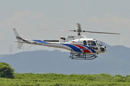 Gambardierさんが、岡南飛行場で撮影した美樹観光 AS350B3 Ecureuilの航空フォト(飛行機 写真・画像)