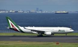 はやさんが、羽田空港で撮影したアリタリア航空 A330-202の航空フォト(飛行機 写真・画像)