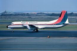 パール大山さんが、羽田空港で撮影した東亜国内航空 YS-11A-623の航空フォト(飛行機 写真・画像)